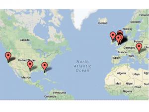 Global visitors