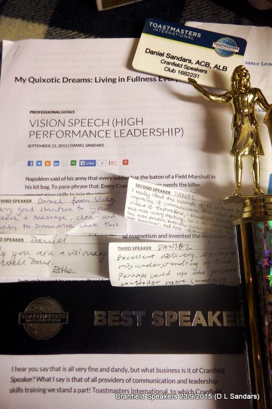 Best Speakers, Topics Speakers, and Smooth Talker Award